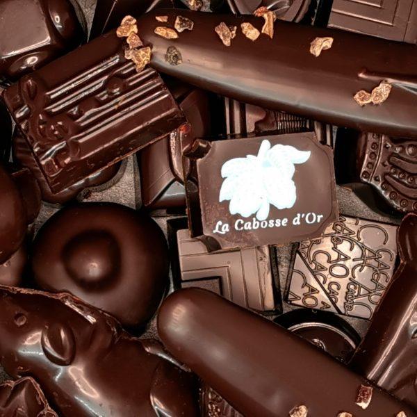 Praline chocolat noir