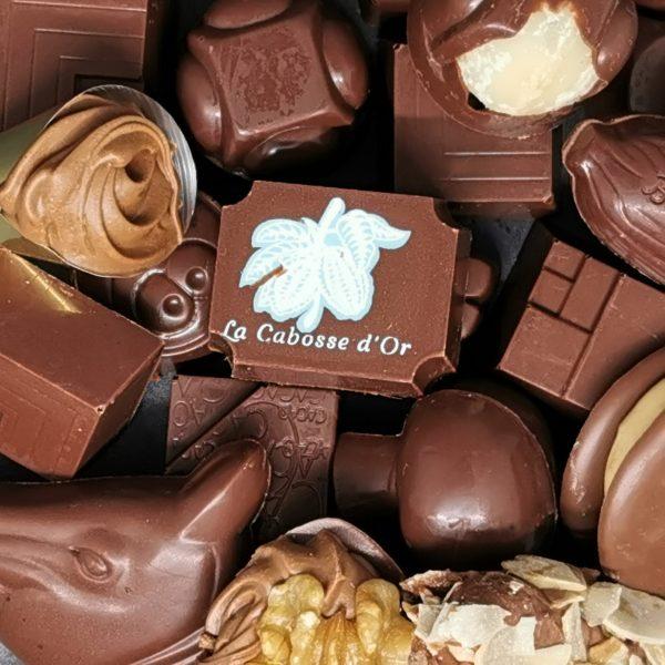 Praline chocolat au lait