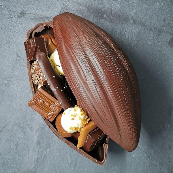 Cabosse en chocolat