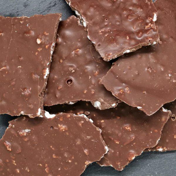 Casson de chocolat au lait
