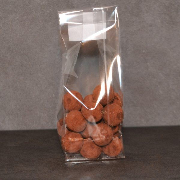 Pomme de terre en chocolat artisanal