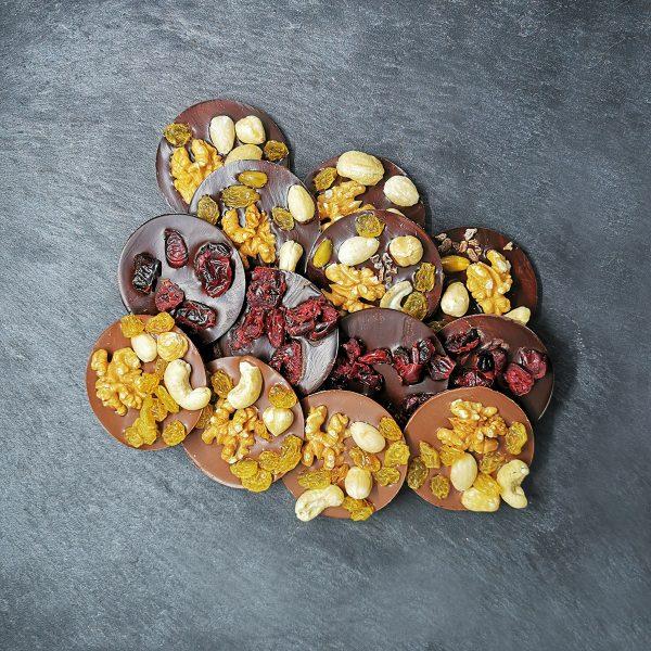 Mendiants chocolat artisanal